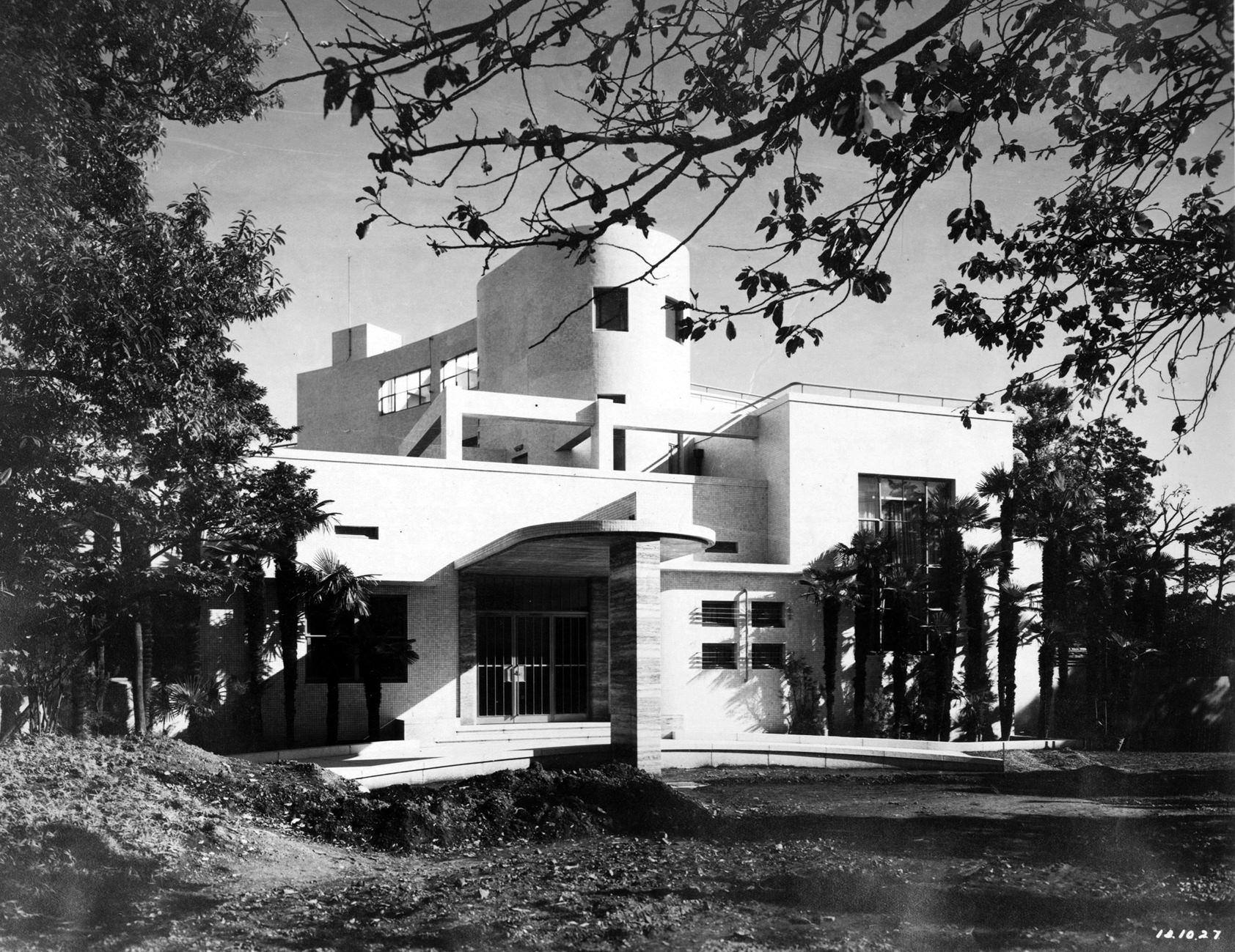 原美術館の建築 1938年竣工当時の原家邸宅外観